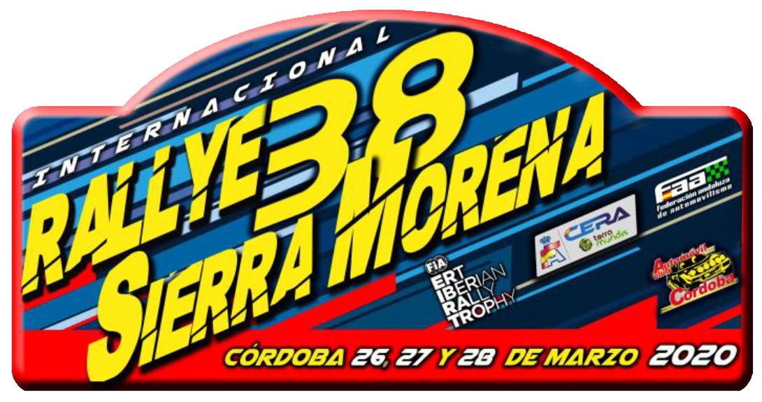 Placa Rally Sierra Morena 2020