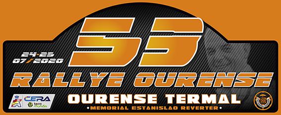 Placa Rally de Ourense 2020