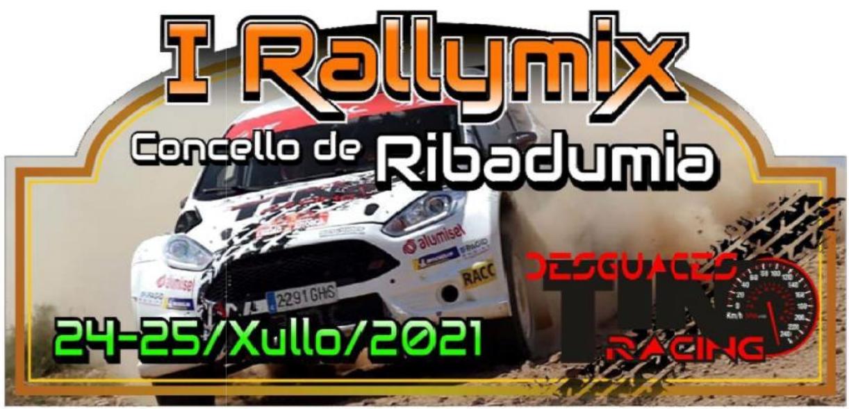 Placa Rallymix de Ribadumia