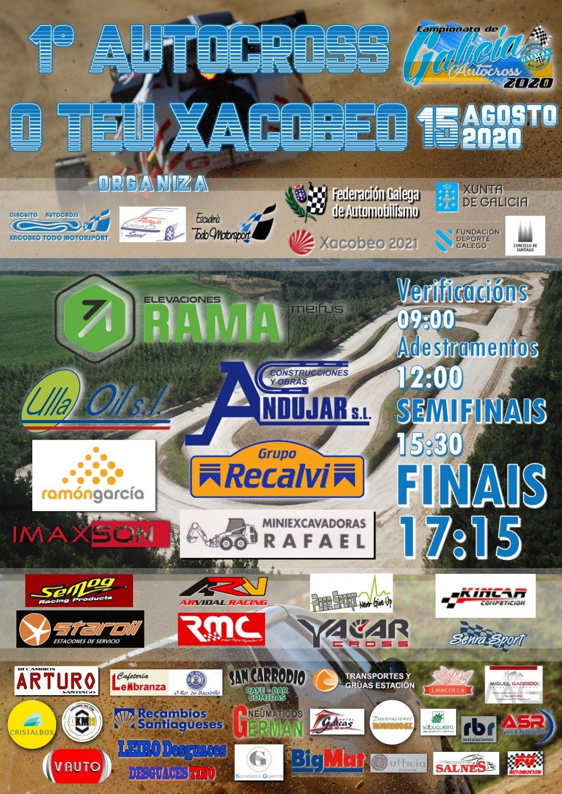 Cartel I Autocross O Teu Xacobeo