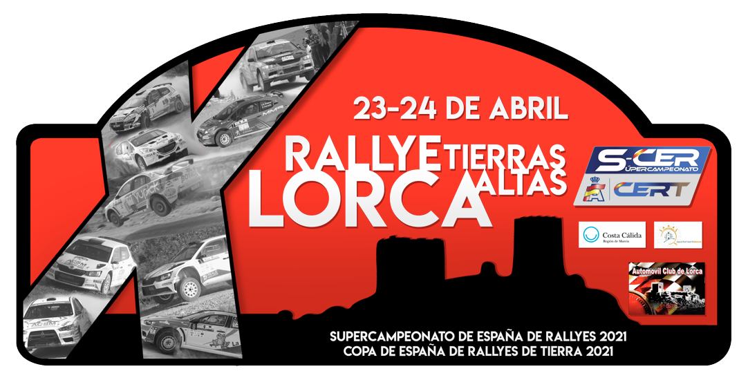 placa x rally de lorca 2021
