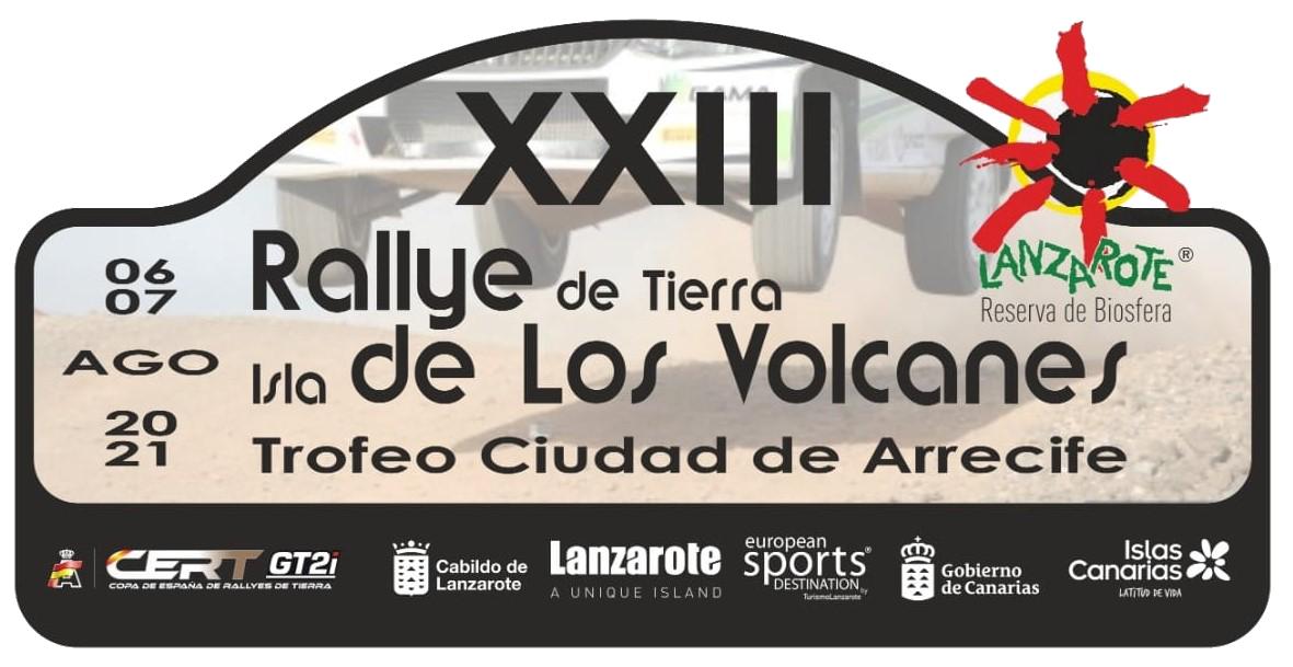 Placa Rally Isla de los volcanes
